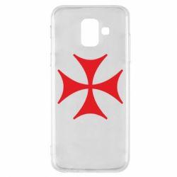 Купить Страны, Чехол для Samsung A6 2018 Болнисский крест, FatLine