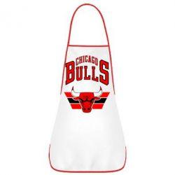 Фартук Большой логотип Chicago Bulls - FatLine