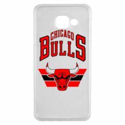 Чохол для Samsung A3 2016 Великий логотип Chicago Bulls
