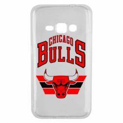 Чохол для Samsung J1 2016 Великий логотип Chicago Bulls