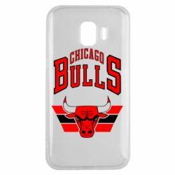 Чохол для Samsung J2 2018 Великий логотип Chicago Bulls