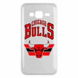 Чохол для Samsung J3 2016 Великий логотип Chicago Bulls