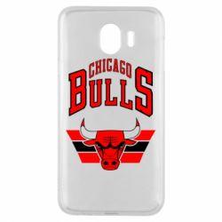 Чохол для Samsung J4 Великий логотип Chicago Bulls