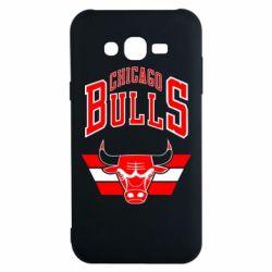 Чохол для Samsung J7 2015 Великий логотип Chicago Bulls