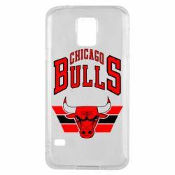 Чохол для Samsung S5 Великий логотип Chicago Bulls