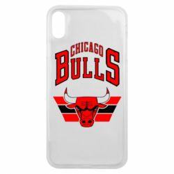Чохол для iPhone Xs Max Великий логотип Chicago Bulls