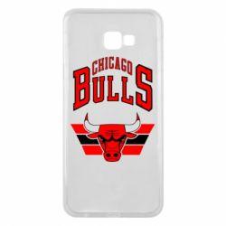 Чохол для Samsung J4 Plus 2018 Великий логотип Chicago Bulls