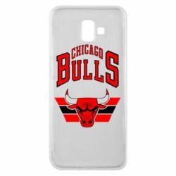 Чохол для Samsung J6 Plus 2018 Великий логотип Chicago Bulls