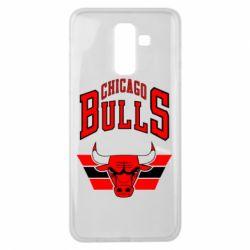 Чохол для Samsung J8 2018 Великий логотип Chicago Bulls