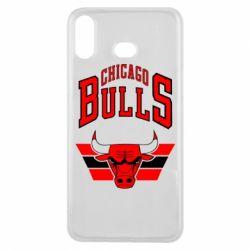 Чохол для Samsung A6s Великий логотип Chicago Bulls