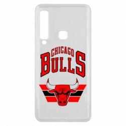 Чохол для Samsung A9 2018 Великий логотип Chicago Bulls