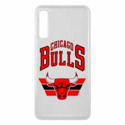 Чохол для Samsung A7 2018 Великий логотип Chicago Bulls