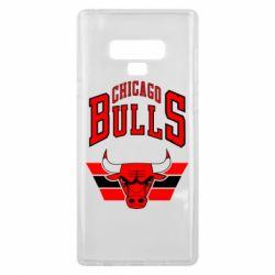 Чохол для Samsung Note 9 Великий логотип Chicago Bulls