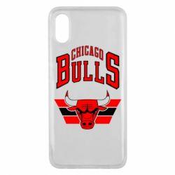 Чехол для Xiaomi Mi8 Pro Большой логотип Chicago Bulls