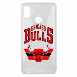Чехол для Xiaomi Mi Max 3 Большой логотип Chicago Bulls