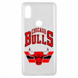 Чехол для Xiaomi Mi Mix 3 Большой логотип Chicago Bulls