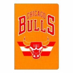 Блокнот А5 Великий логотип Chicago Bulls