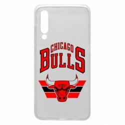 Чехол для Xiaomi Mi9 Большой логотип Chicago Bulls