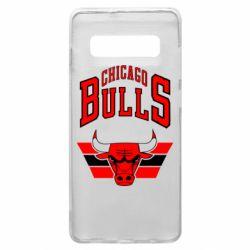 Чохол для Samsung S10+ Великий логотип Chicago Bulls