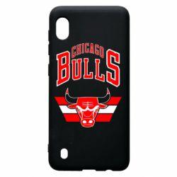Чохол для Samsung A10 Великий логотип Chicago Bulls