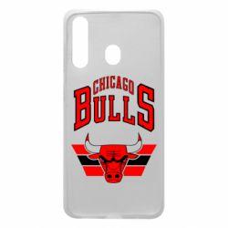 Чохол для Samsung A60 Великий логотип Chicago Bulls