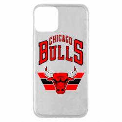 Чохол для iPhone 11 Великий логотип Chicago Bulls