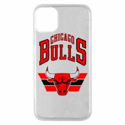 Чохол для iPhone 11 Pro Великий логотип Chicago Bulls