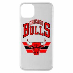 Чохол для iPhone 11 Pro Max Великий логотип Chicago Bulls
