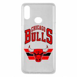 Чохол для Samsung A10s Великий логотип Chicago Bulls
