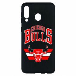 Чохол для Samsung M30 Великий логотип Chicago Bulls