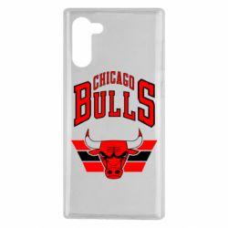 Чохол для Samsung Note 10 Великий логотип Chicago Bulls