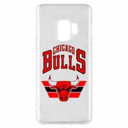 Чохол для Samsung S9 Великий логотип Chicago Bulls