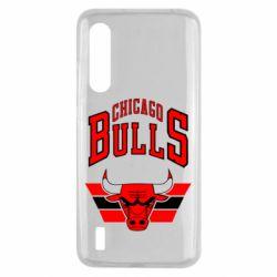 Чехол для Xiaomi Mi9 Lite Большой логотип Chicago Bulls