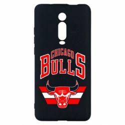 Чехол для Xiaomi Mi9T Большой логотип Chicago Bulls