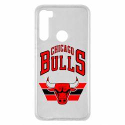 Чехол для Xiaomi Redmi Note 8 Большой логотип Chicago Bulls