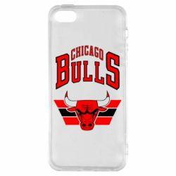 Чохол для iphone 5/5S/SE Великий логотип Chicago Bulls