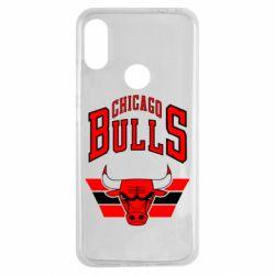 Чехол для Xiaomi Redmi Note 7 Большой логотип Chicago Bulls