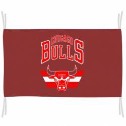 Прапор Великий логотип Chicago Bulls