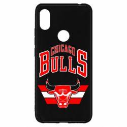 Чехол для Xiaomi Redmi S2 Большой логотип Chicago Bulls