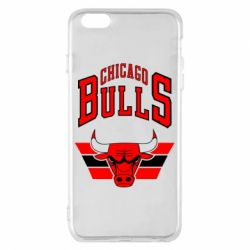Чохол для iPhone 6 Plus/6S Plus Великий логотип Chicago Bulls