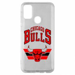 Чохол для Samsung M30s Великий логотип Chicago Bulls