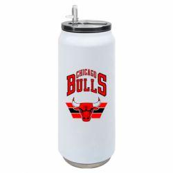 Термобанка 500ml Великий логотип Chicago Bulls