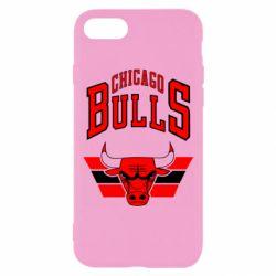 Чохол для iPhone 8 Великий логотип Chicago Bulls