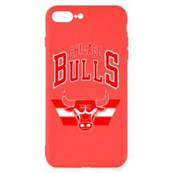Чохол для iPhone 8 Plus Великий логотип Chicago Bulls
