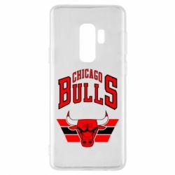 Чохол для Samsung S9+ Великий логотип Chicago Bulls