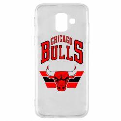 Чохол для Samsung A6 2018 Великий логотип Chicago Bulls