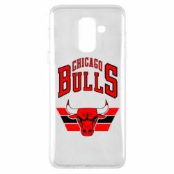 Чохол для Samsung A6+ 2018 Великий логотип Chicago Bulls