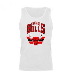 Мужская майка Большой логотип Chicago Bulls - FatLine