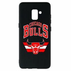 Чохол для Samsung A8+ 2018 Великий логотип Chicago Bulls
