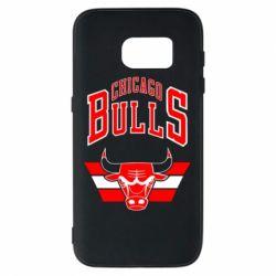 Чохол для Samsung S7 Великий логотип Chicago Bulls